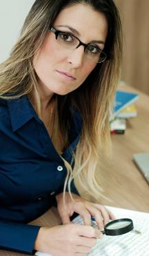 Leticia Radaic é grafóloga (Arquivo pessoal)