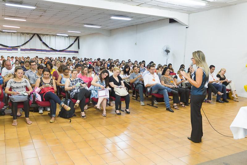 Palestra sobre Grafologia na Universidade Anhanguera